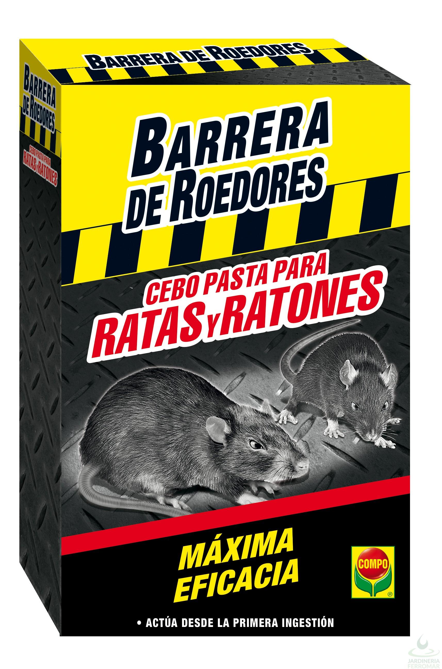 Compo barrera cebo fresco ratas y ratones 200 gr piscinas ferromar - Cual es el mejor cebo para ratones ...