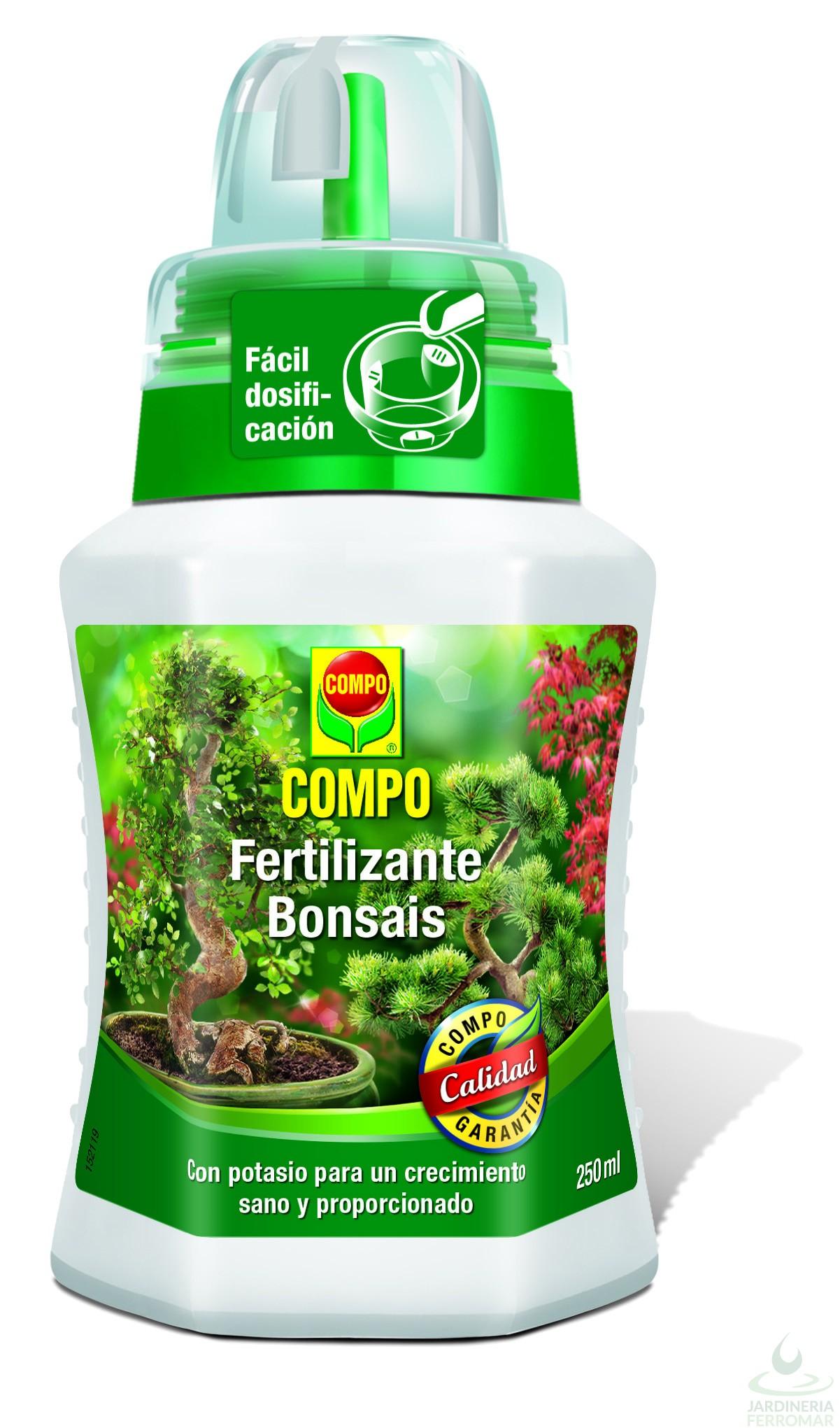 Compo fertilizante bonsais 500ml piscinas ferromar for Piscinas ferromar