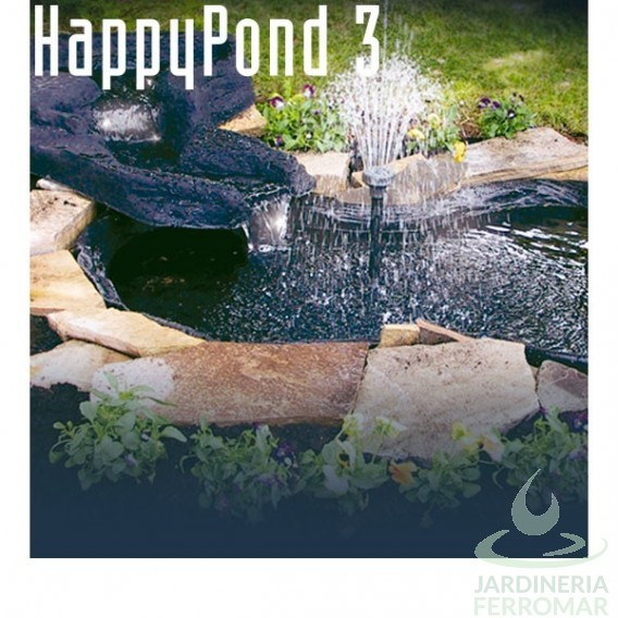 Happy pond estanque bomba sicce piscinas ferromar for Precio estanques prefabricados