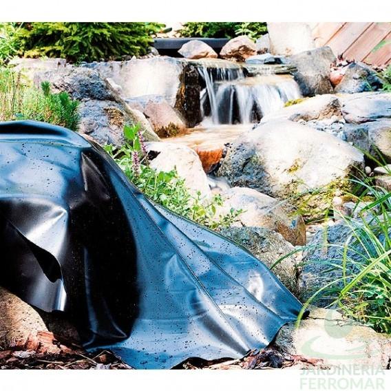 L mina pvc precortada para estanques heissner piscinas for Piscinas ferromar