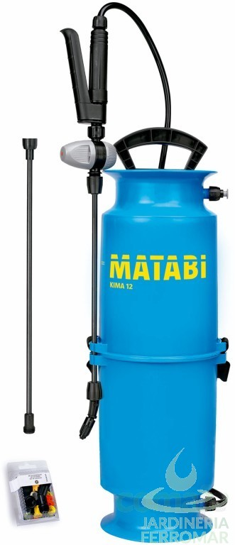Matabi pulverizador kima 12 piscinas ferromar for Piscinas ferromar