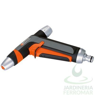 Pistola metálica multichorro Premium Gardena