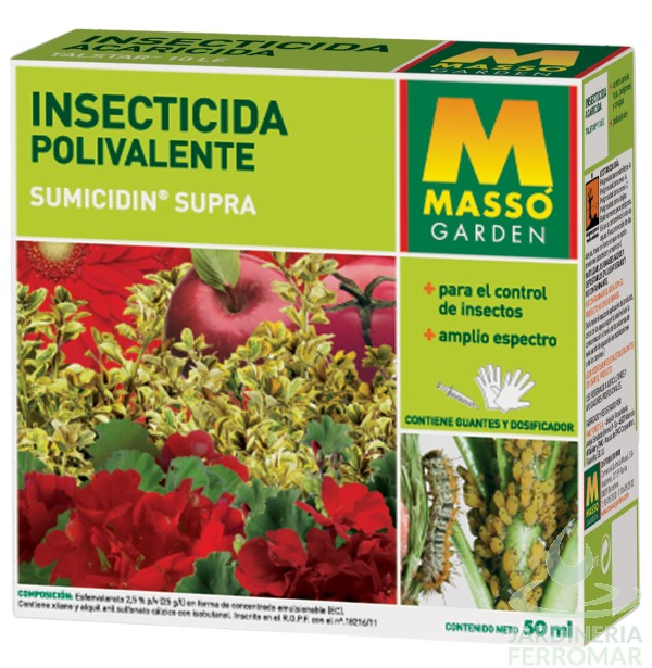 Massó Insecticida Polivalente Sistémico Envase 50 ml