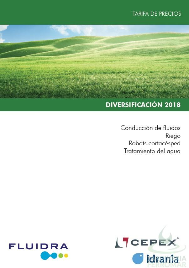 Catálogo de Diversificación Fluidra 2018