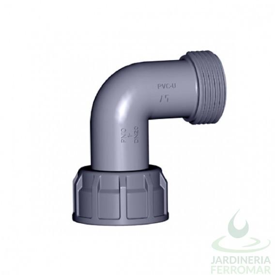 Codo Cepex 90º PVC H/M para colectores