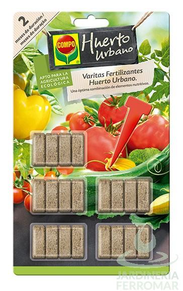 Compo Varitas Fertilizantes Huerto y Frutales