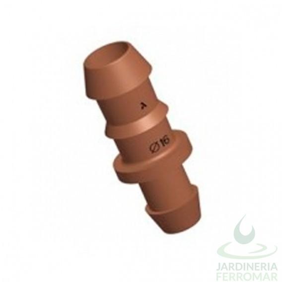 Conexión toma ramal 16 mm para tubería PE Cepex 50 uds.