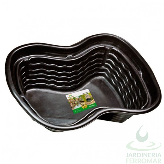 Estanque prefabricado pe 250 litros heissner piscinas for Estanque de plastico precio