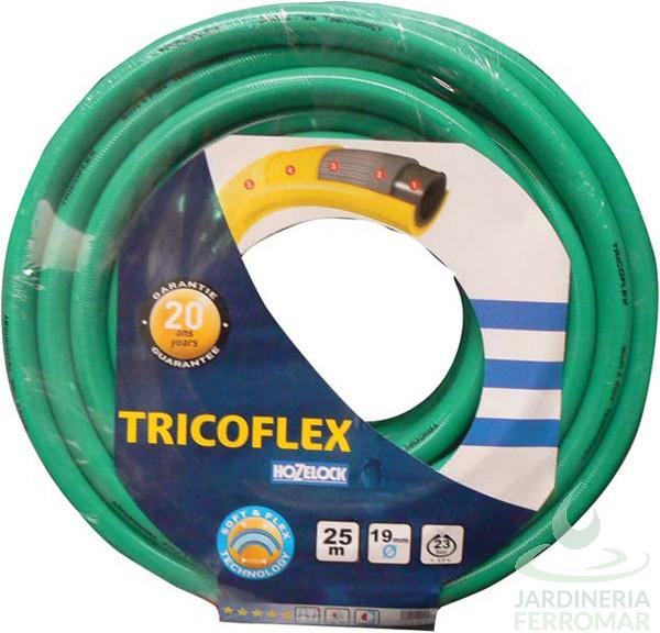 Tricoflex Manguera flexible Multicapa Ø15mm Verde
