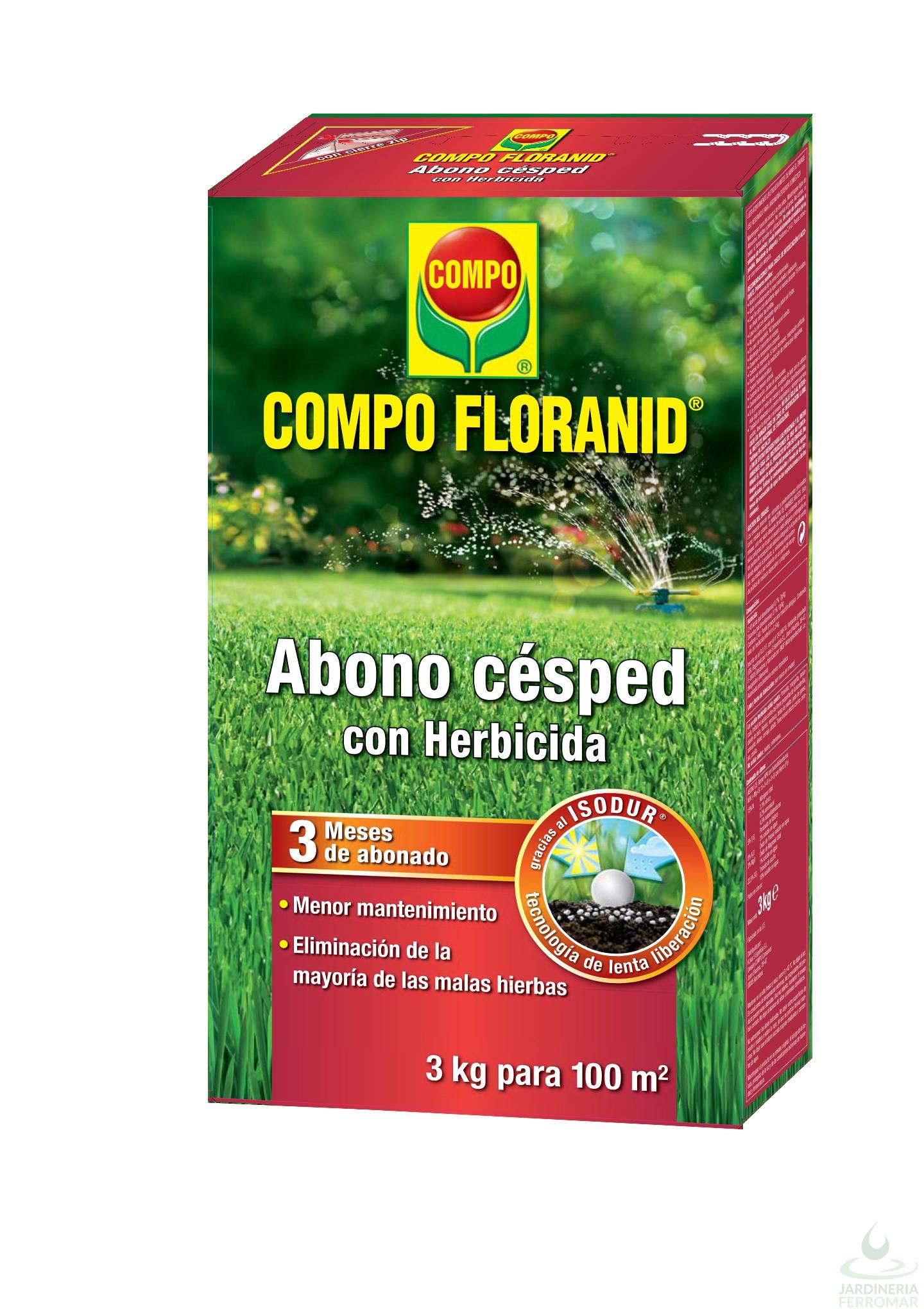 po FLORANID Abono C sped Herbicida Estuche 3 kg