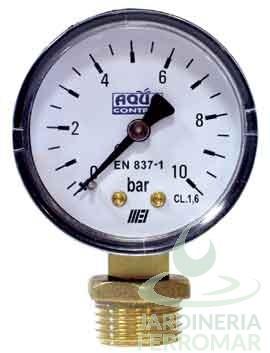 Manómetro Aqua Control