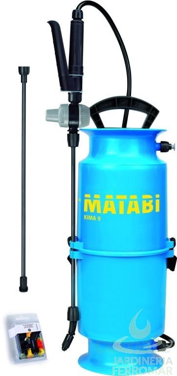 Matabi pulverizador kima 9 piscinas ferromar for Piscinas ferromar