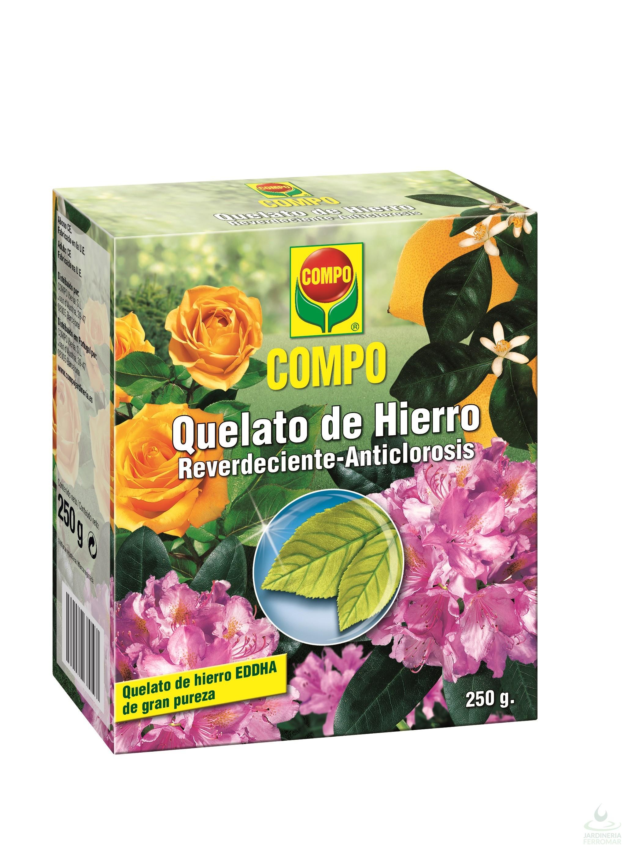 Compo Quelato de Hierro Envase 250 gr