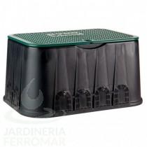 Arqueta rectangular Jumbo Cepex con tapa de cierre mediante tornillo