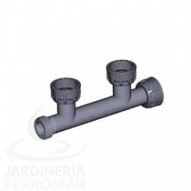 Colector Cepex PVC 2 salidas