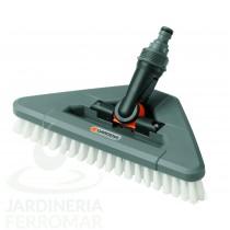 Gardena (5562) Cepillo triangular de cerdas duras