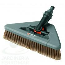 Gardena (5560) Cepillo de cerdas blandas giratorio