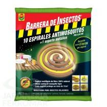 Compo Barrera 10 Espirales Antimosquitos