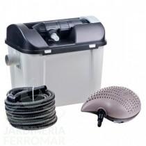 Set completo filtración estanque con bomba y UV 7000 litros Heissner