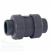 Válvula antirretorno PVC Cepex EPDM encolar
