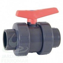 Válvula de bola Cepex Standard PVC Teflón-FPM encolar