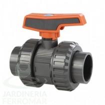 Válvula de bola Cepex [STD] PVC-U Teflón-EPDM roscar