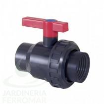 Válvula de bola Uniblock PVC PE-EPDM roscar Cepex