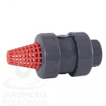 Válvula de pie de bola PVC Cepex EPDM roscar
