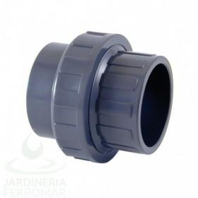 Enlace 3 piezas PVC Cepex encolar