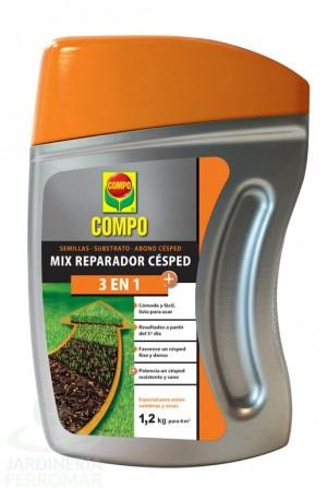Compo Mix Reparador Césped 1,2 kg