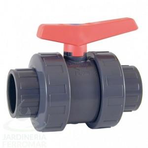Válvula de bola Standard PVC-U PE-EPDM encolar Cepex