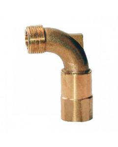 Codo giratorio para llave en bronce Cepex