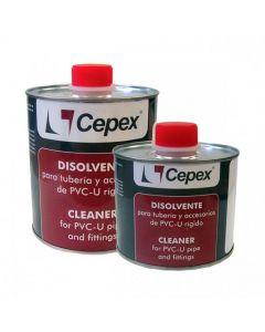 Disolvente limpiador Cepex para PVC