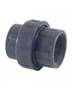 Enlace 3 piezas PVC Cepex roscar hembra