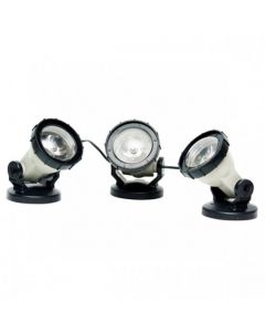 Set 3 focos luz LED alta potencia para estanques Heissner