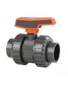 Válvula de bola [STD] PVC-U PE-EPDM roscar Cepex