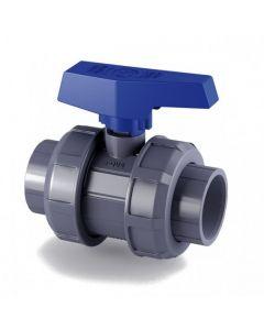 Válvula de bola e-QUA PVC PN12 encolar Cepex