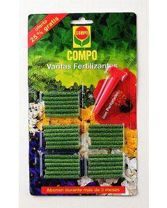 Compo Varitas Fertilizantes 30 Unidades
