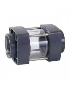 Visor de líquido PVC roscar Cepex