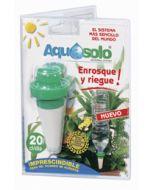 Aquasolo Cono de cerámica para macetas Verde blister 3+1 (20 cl.)