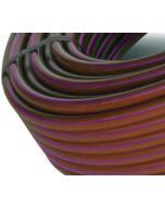 Tubería gotero autocompensante integrado Cepex marrón banda morada 100 m
